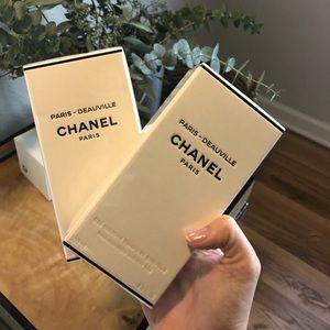 Chanel Deauville Shower Gel/Body Cream Duo